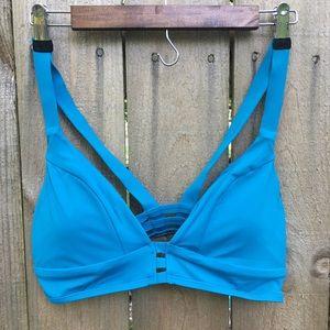 Sunlab Swim yoga styled bikini top sz L